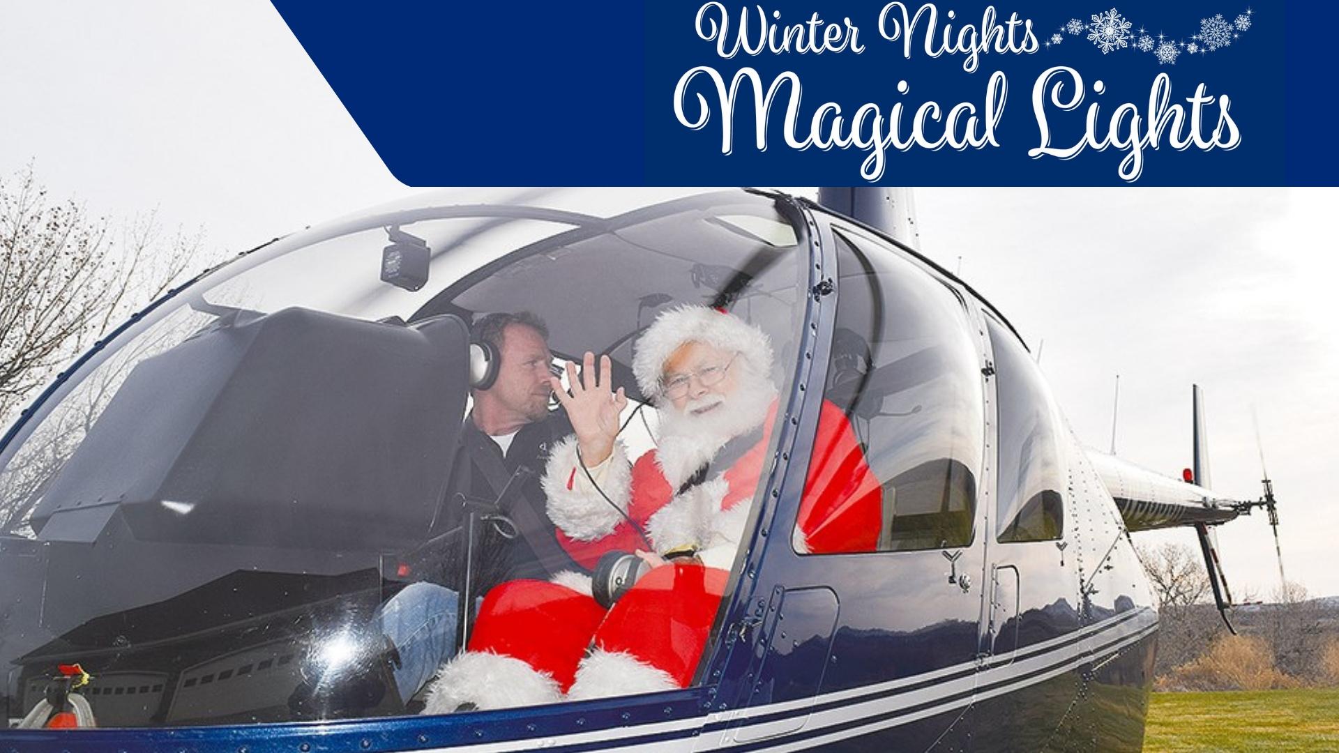Santa's arrival 11-23-18