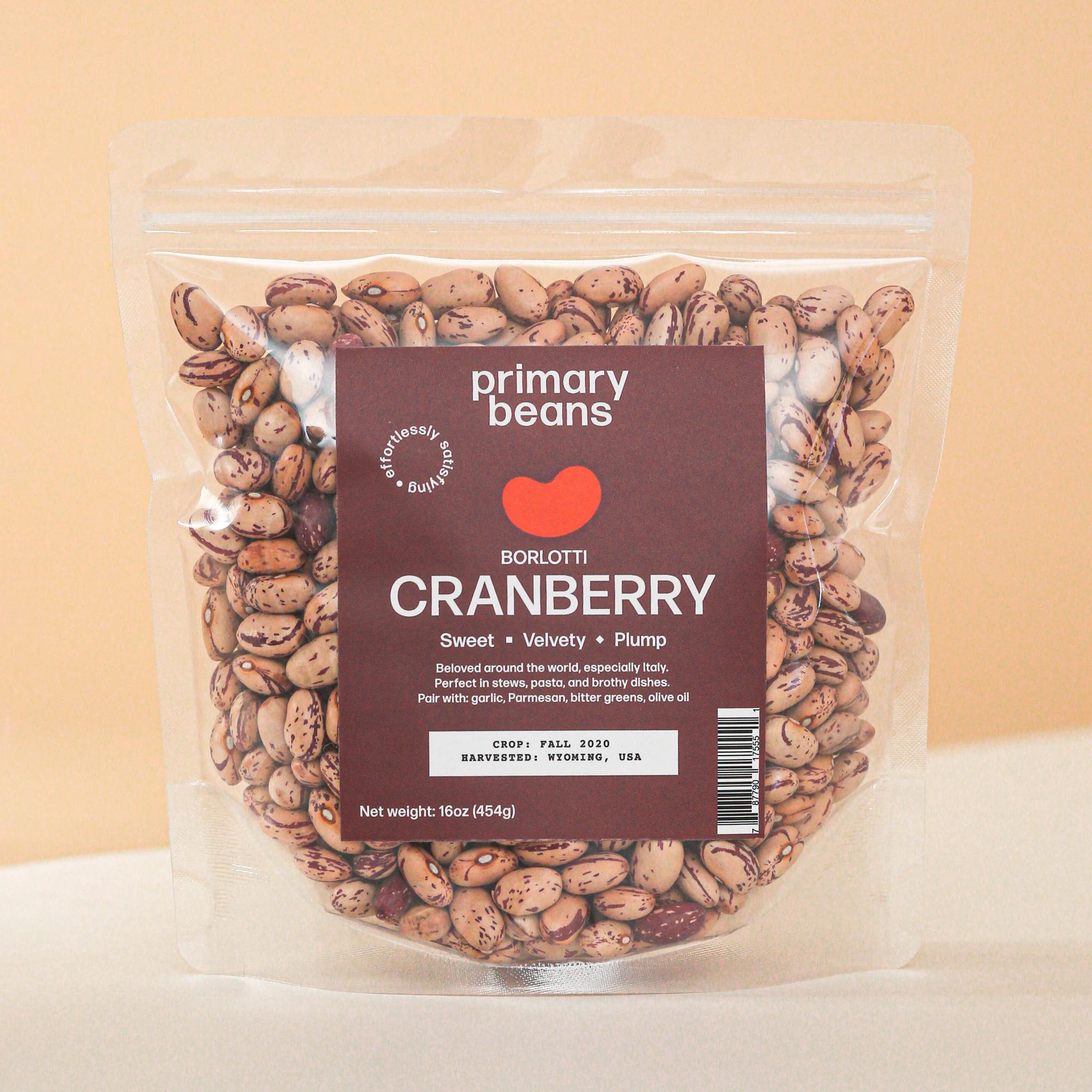 Cranberry Beans, Big Horn Basin