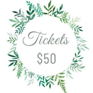 Tickets $50
